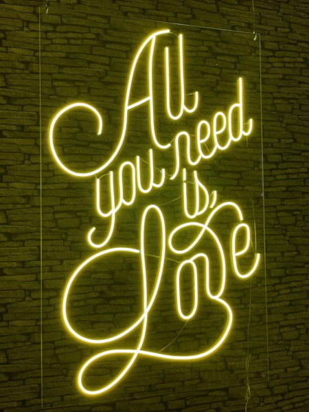 Neon Signs - All You Need Is Love