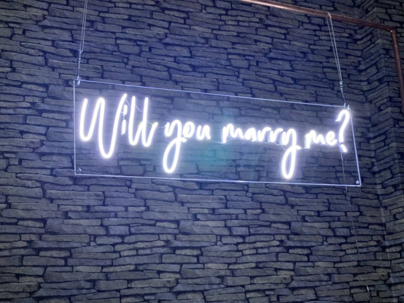 Neon Signs - Will You Marry Me?