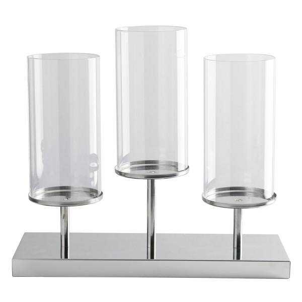 Chrome Candle Tray