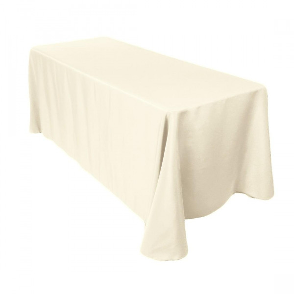 """Banqueting Linen - 70"""" x 144"""" - Ivory"""