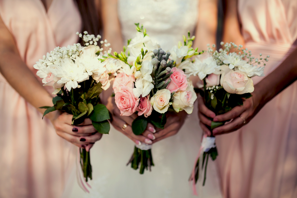 Cora - Bridesmaids Bouquets