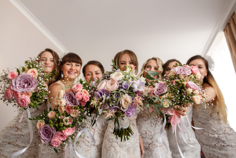 Emery - Bridesmaids Bouquets