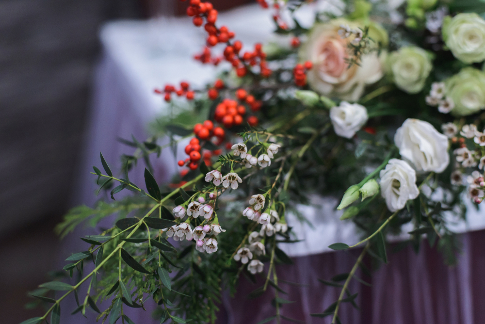 Winter Berry - Head Table Display