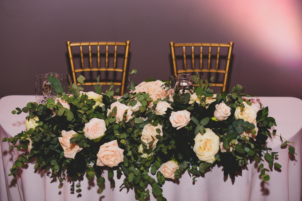 Scarlett - Head Table Display