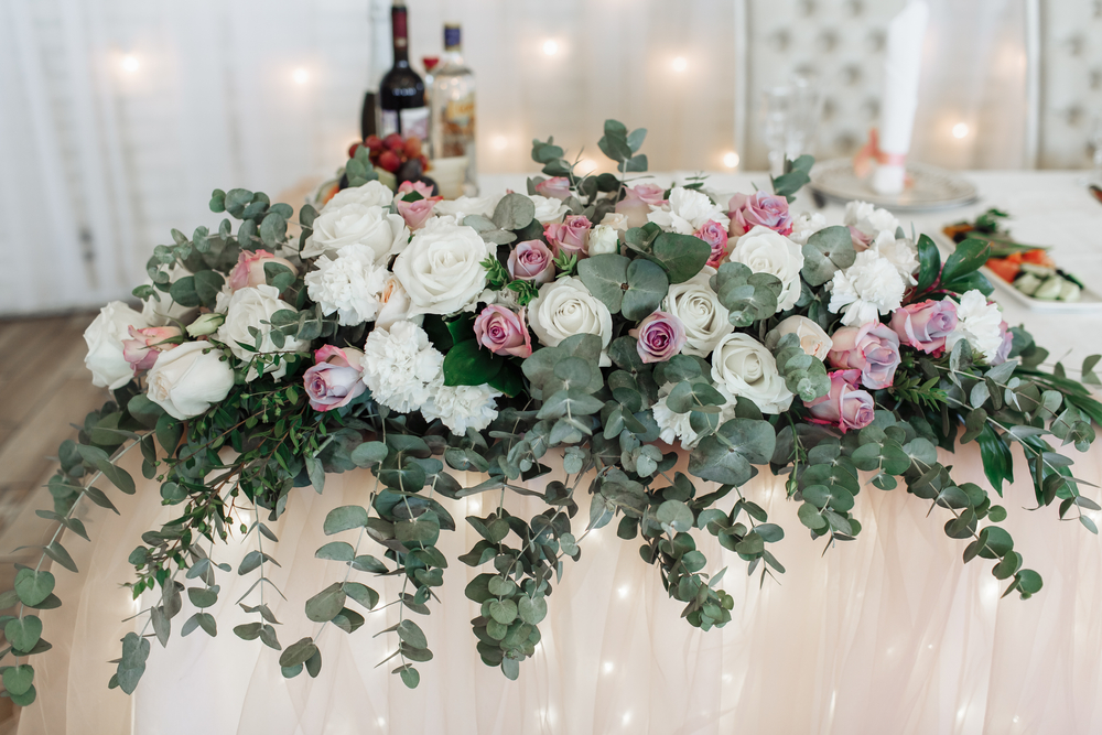 Nora - Head Table Centrepiece