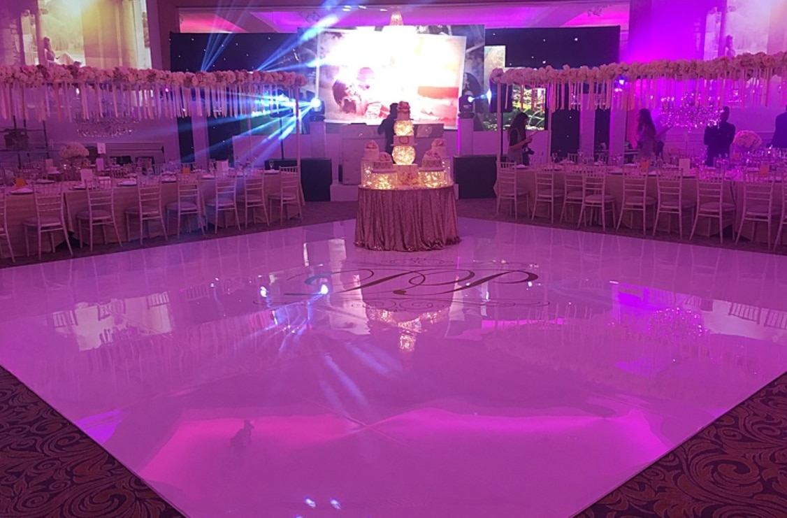 Seamless Dance Floor hire - (Any Colour)