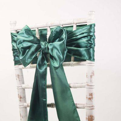 Hunter Green - Satin Sash