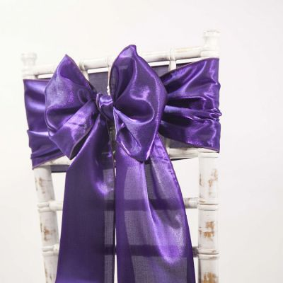 Twinkle Purple - Satin Sash